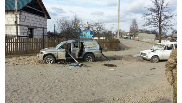 На месте перестрелки в Ровенской области