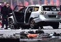 Взрыв автомобиля в Берлине.