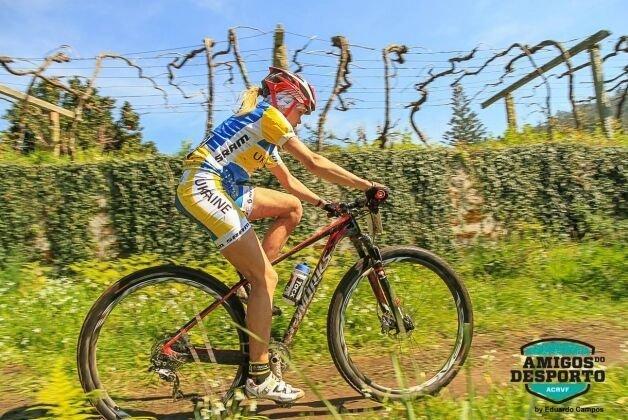 Украинка Наталья Кромпец стала первой  в гонке чемпионата Португалии, которая прошла в Виана-ду-Каштелу.