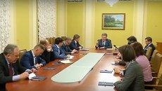 Заседание комиссии по избранию членов НАПК