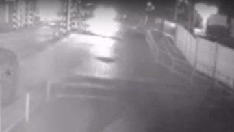 ДТП на пункте пропуска Кучурган: пьяный водитель врезался в КПП