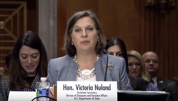 Виктория Нуланд в Сенате США