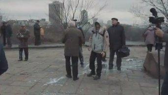ГК Азов сорвал митинг сторонников коммунистов в Киеве