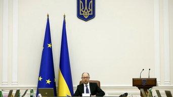 Премьер-министр Арсений Яценюк. Архивное фото