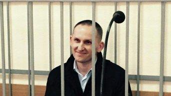 Антон Шевцов на заседании Винницкого городского суда 18 марта 2016 года