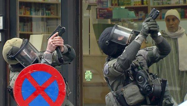ВБрюсселе милиция начала масштабную операцию позадержанию пособников террористов