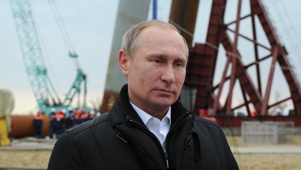 Поездка Путина в Крым