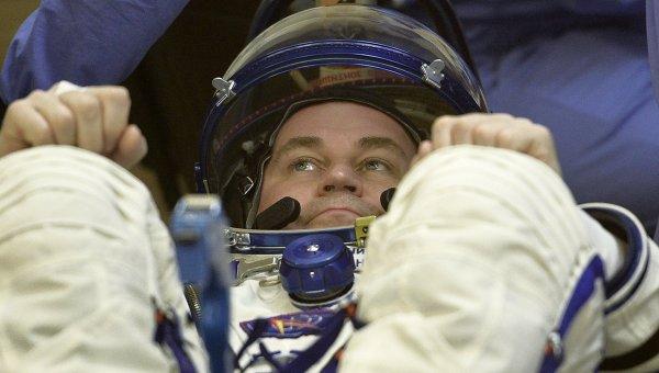 Член основного экипажа МКС-47/48 космонавт Роскосмоса Алексец Овчинин