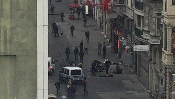 Теракт в центре Стамбула