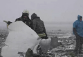 Сбор обломков Boeing 737-800 в Ростове-на-Дону. Видео