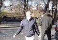 Столкновения радикалов и полиции во Львове. Видео