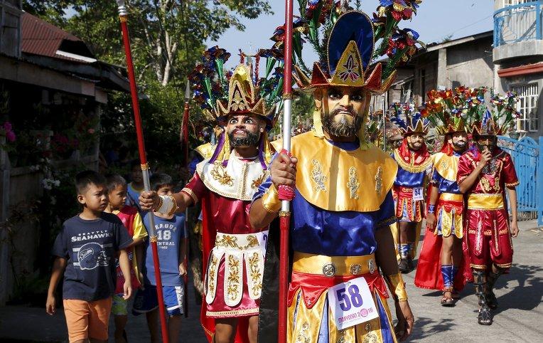 Празднование Страстной недели на Филиппинах