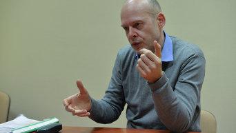 Пресс-спикер МККК на Украине Маттиас Вайнрайх