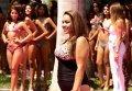 Модель plus size дефилировала в купальнике на конкурсе Мисс Перу-2016. Видео