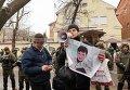 Пикет российского посольства в Харькове