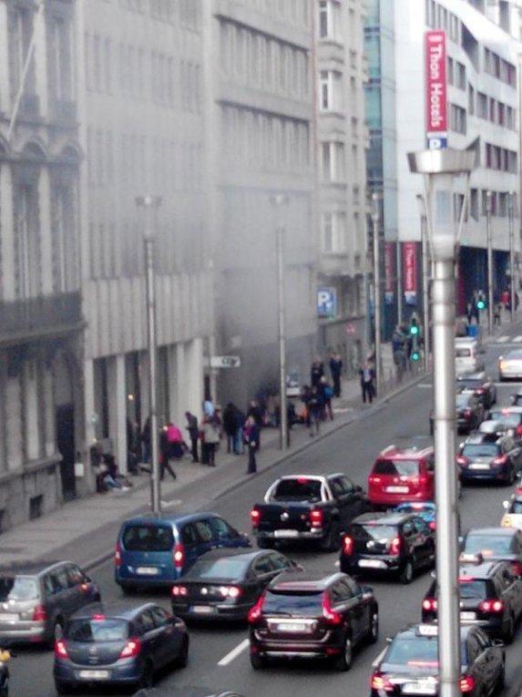 Взрыв в метро Брюсселя