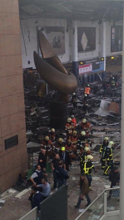 Взрывы в аэропорту Брюсселя. Последствия