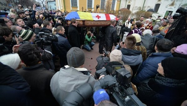 Похороны Гонгадзе