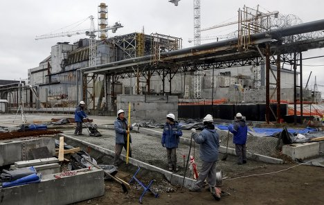 ФРГ выделит 19 млн евро на достройку саркофага над ЧАЭС