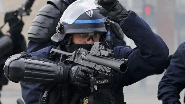 Массовые протесты во Франции