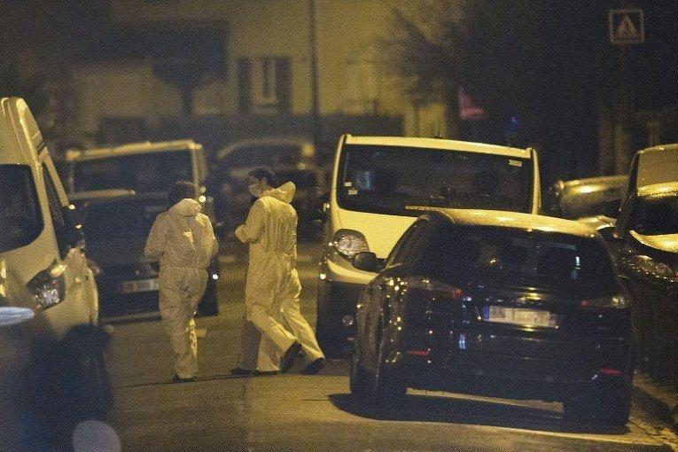 Рейд полиции во Франции
