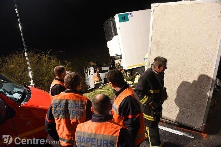 Смертельная авария во Франции