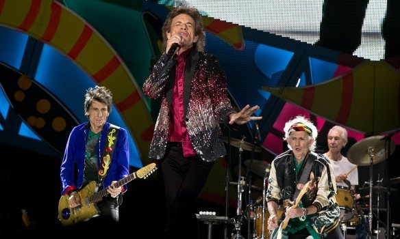 Концерт Rolling Stones на Кубе