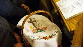 Торжественное богослужение по случаю католической Пасхи