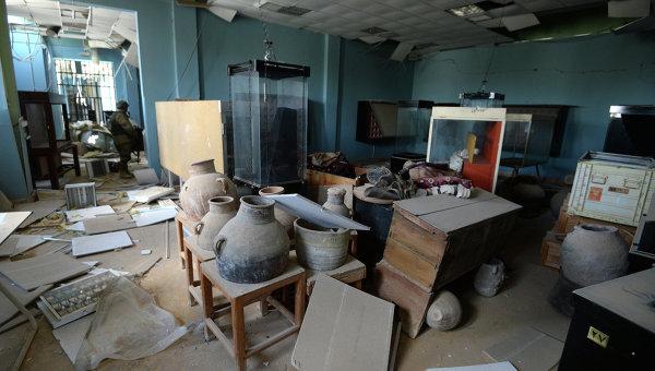 Музеи в освобожденной Пальмире