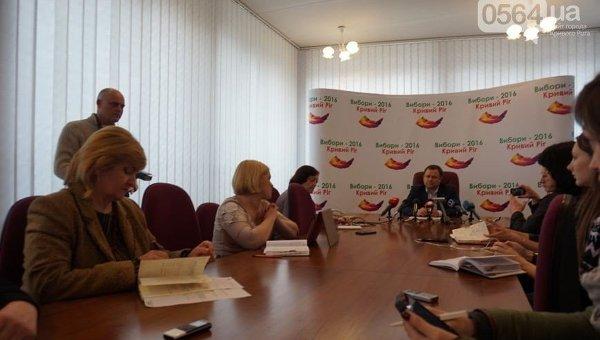 Криворожская городская избирательная комиссия
