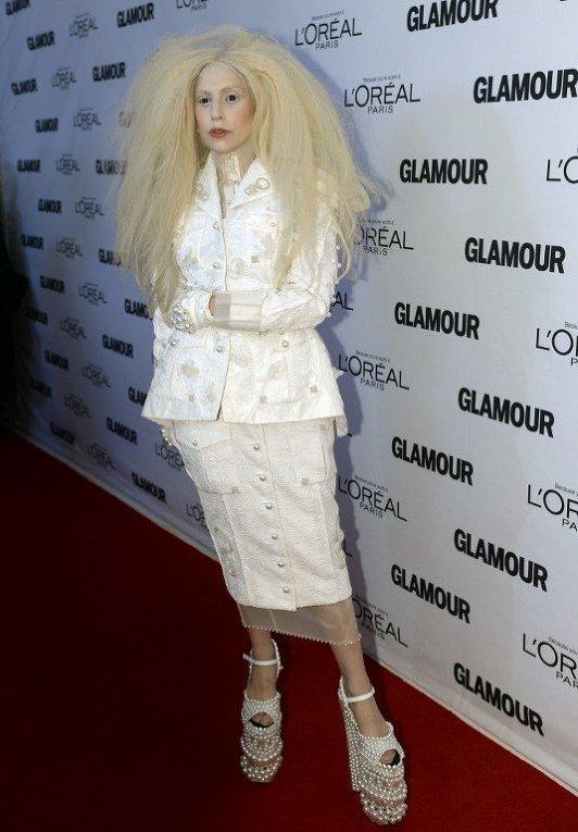 Lady Gaga на церемонии Женщины Года
