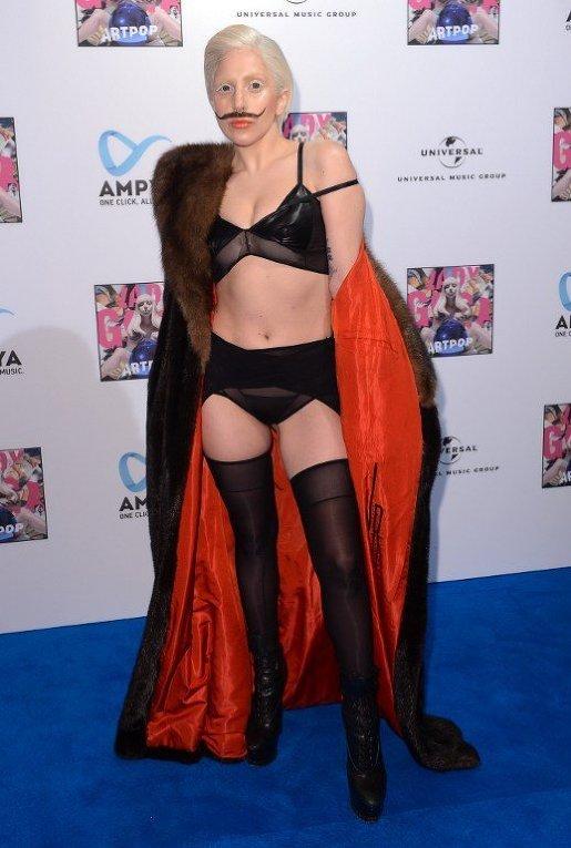 Lady Gaga в Берлине представила свой альбом Artpop