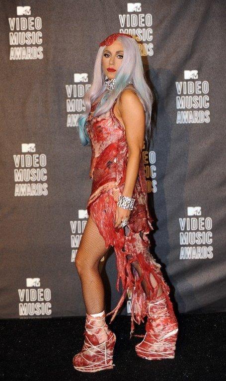 Lady Gaga на церемонии MTV Video Music Awards