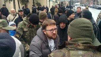 Митинг за отставку Шокина в Харькове