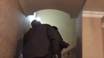 Появилось видео стрельбы судьи по детективам НАБУ. Видео
