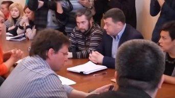 Конфликт Боровика и депутатов в Одессе. Видео