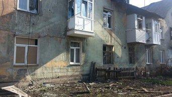 Горловка после обстрелов 31 марта 2016 года