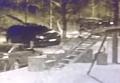 Момент взрыва у дома Парасюка с камер наблюдения