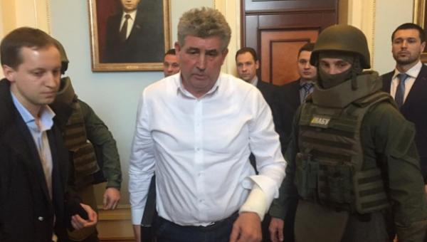 Задержание Алексея Бурана в Раде