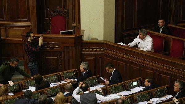 Алексей Буран в Раде