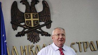 Лидер сербских радикалов Воислав Шешель