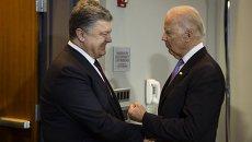 Рабочий визит Петр Порошенко в США. Архивное фото