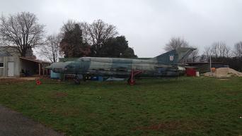 Хорватские МиГ-21бис до ремонта в Одессе