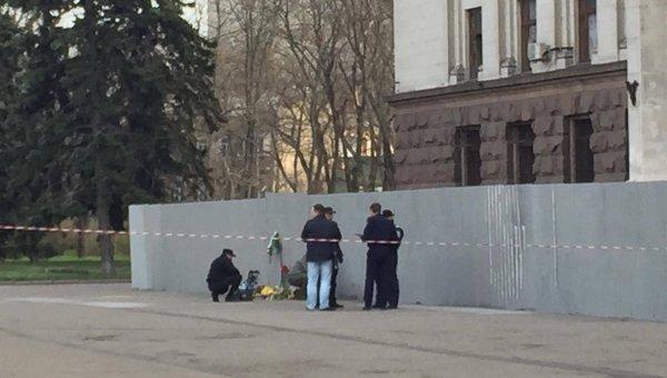 Взрыв на Куликовом поле в Одессе