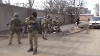 Задержание разведгруппы ВСУ, планировавшей перейти на сторону ДНР. Видео