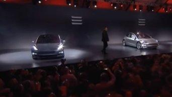 Народный электромобиль от компании Tesla. Видео