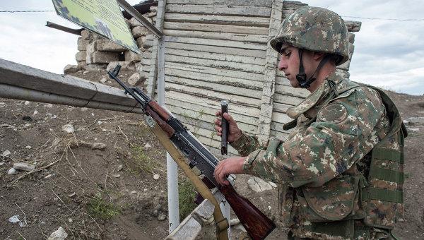 Ситуация на границе Армении и Азербайджана