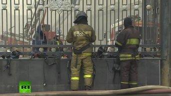 В Москвы в здании Минобороны РФ случился пожар