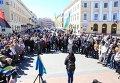 Саакашвили и 300 активистов протестуют в Одессе против нового прокурора