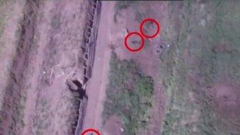 Минобороны Карабаха показала кадры беспилотника с погибшими солдатами. Видео
